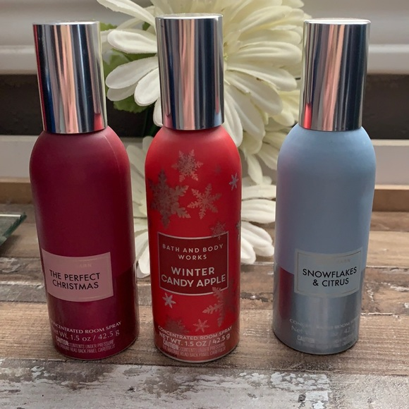NEW BBW X3 CONCENTRATED ROOM SPRAYS